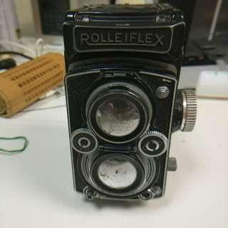 古董双鏡反光相机