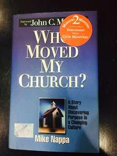 Who Moved My Church? Book