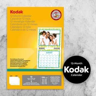 Kodak 12 Month Calendar Kit