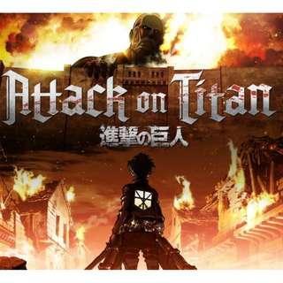 [Anime] Attack on Titan 进击的巨人