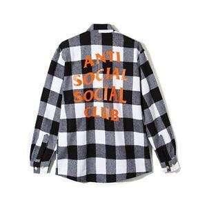 ASSC Anti Social Social Club Flannel