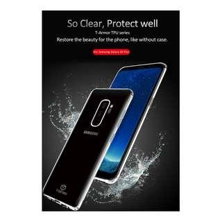 🚚 Samsung S9 Shock Resistant Clear Case Full Coverage Casing