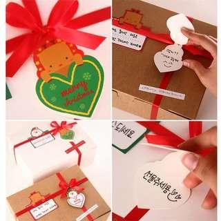 聖誕禮物掛牌(50個)