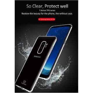 🚚 Samsung S9+ Shock Resistant Case Clear Full Coverage Casing