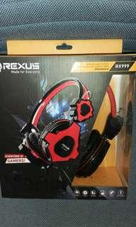 Headset Gaming Rexus RX999