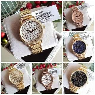 Sale‼️MK Portia MK Logo ladies Watch Php 3,500