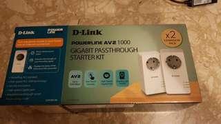 PowerLine AV2 1000 Gigabit Adapter