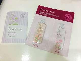 The Face Shop PERFUME SEED Body Wash Sample set