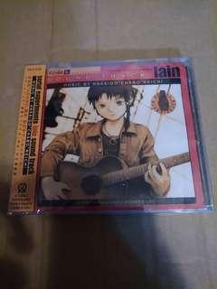 (全新未開封) Serial Experiments LAIN ost 日版cd