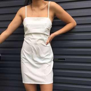 WHITE DRESS BNWT
