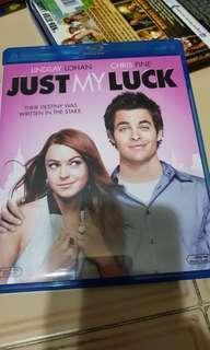 Pre-loved Original Just My Luck Blu Ray Bluray