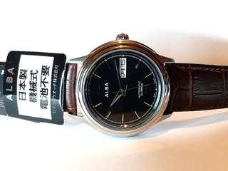 Alba 日本雅柏錶,罕有 Japan Collection 機械自動,Made in Japan  只在日本發售,41mm,屬於 New Old Stock, 保証全新,正貨。旅行日本購買的。