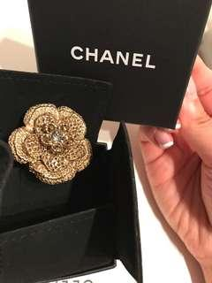 New Chanel Camellia ring