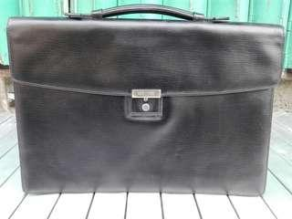GOLD PFEIL Leather briefcase bag