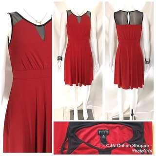 👗 Beautiful red dress