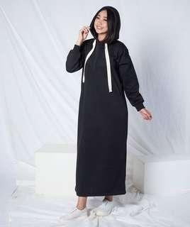Long Dress Hoodie by @myrubilicious