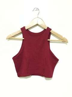 NEW! Red cropped top