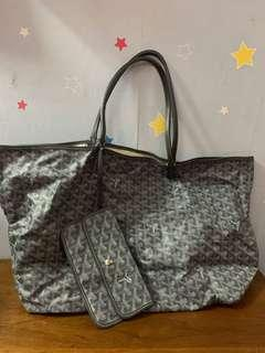 Authentic Goyard bag, 70%new, conditions as pic, size 40*30*15cm