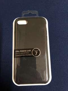 Brand New Iphone 7 / 8 Black Rubberized Case