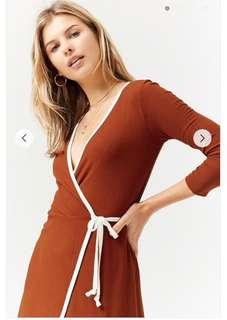 F21 Korea Wrap dress
