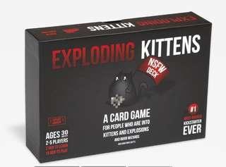 Exploding Kittens NSFW version