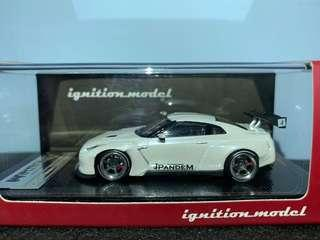 Ig ignition-model r35 white (not tarmac inno tomica)