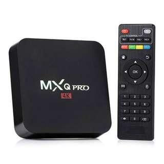 #50xGADGET MXQ Pro 4K Amlogic S905W, Android 7.1.2 (Nougat) TV BOX