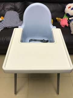 BB餐椅連墊。Ikea High Chair