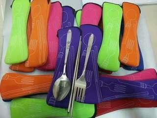 Fork, Spoon and Chopstick Set
