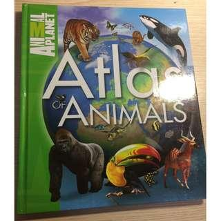 Used CONDITION    Animal Planet - Atlas of Animals      By Jimmy Johnson