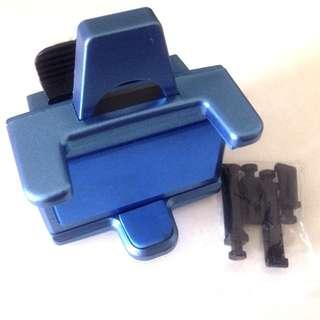 Shiny Blue Mobile Phone Holder