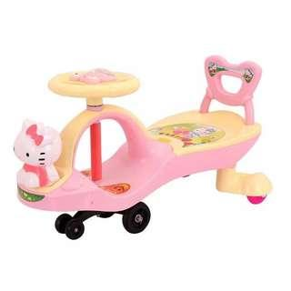 Hello Kitty Twisting Car