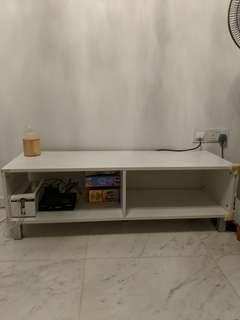 Blessing! Preloved White TV Console