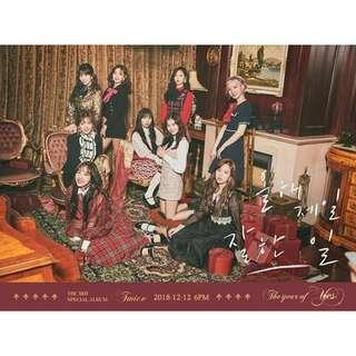 [PREORDER] TWICE - The Year of Yes (3rd Special Album)