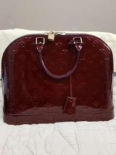 Louis Vuitton Vernis Alma GM