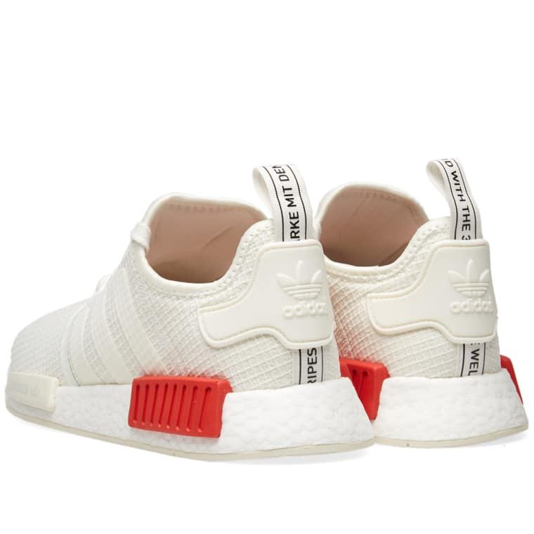 best sneakers a704d 6e741 Adidas NMD Off White Lush Red