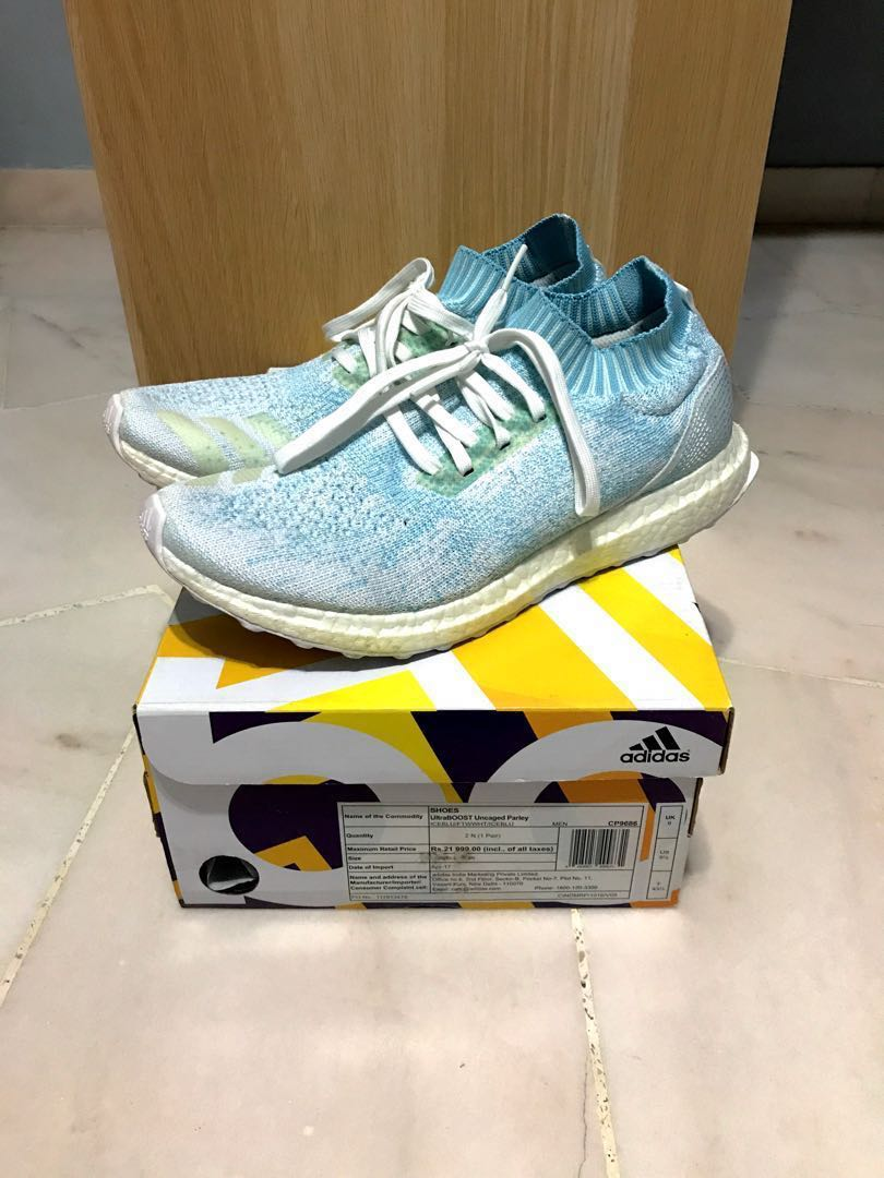 c8715cf783783 adidas Ultraboost Uncaged Parley Coral Bleaching