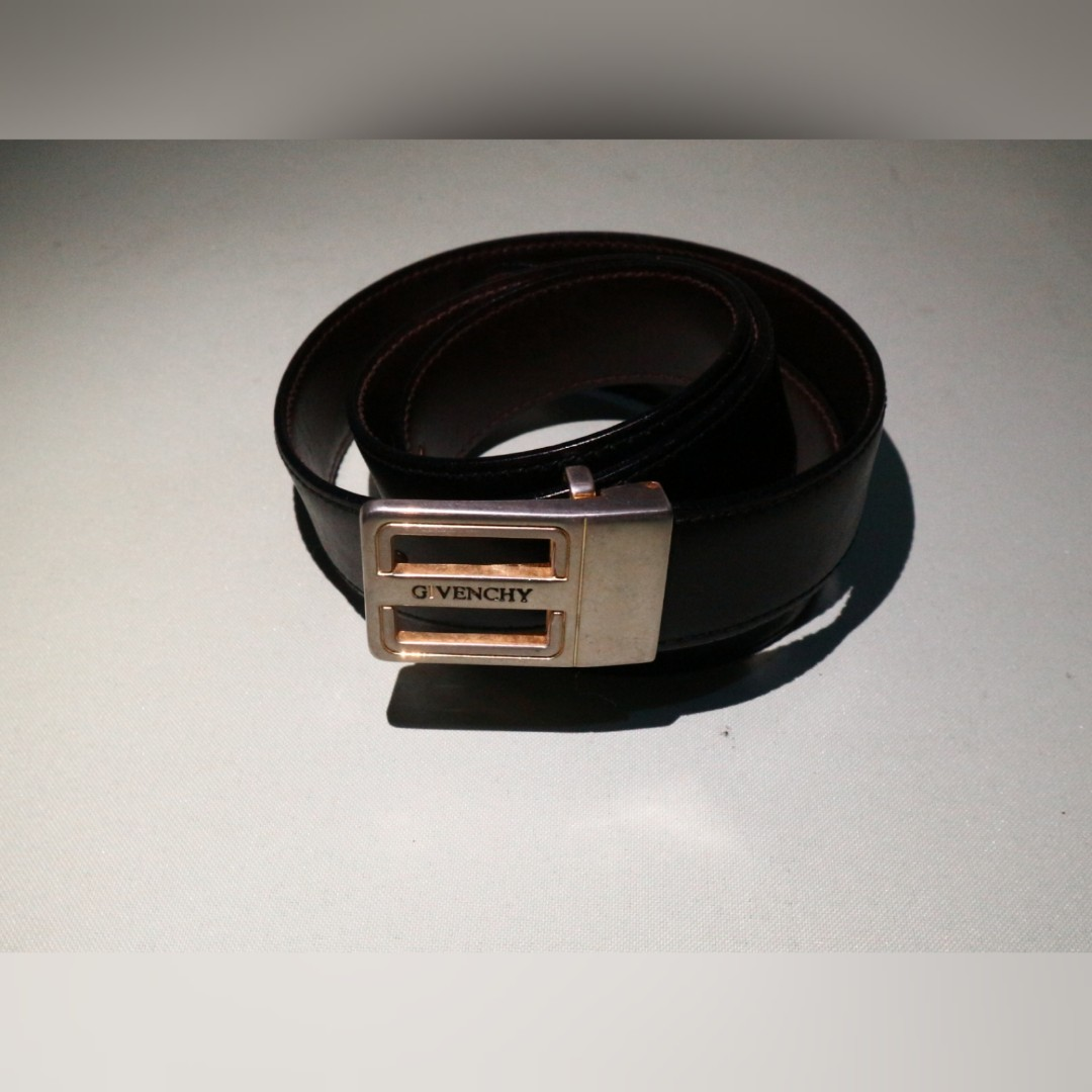 522406437f6d8 AUTH GIVENCHY BELT, Men's Fashion, Accessories, Belts on Carousell