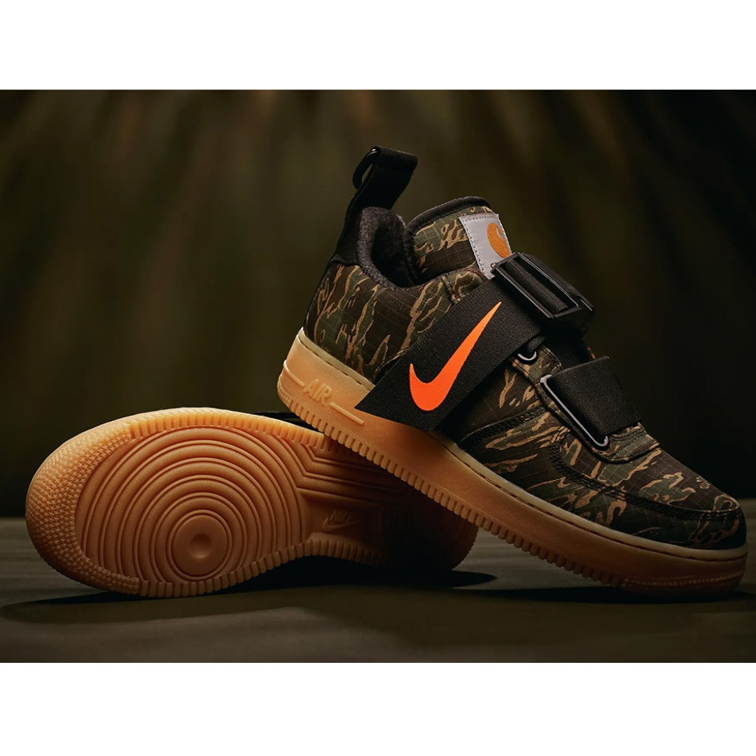 5e2ff6f815e7 Authentic Nike Carhartt Air Force 1 Utility Low Premium WIP