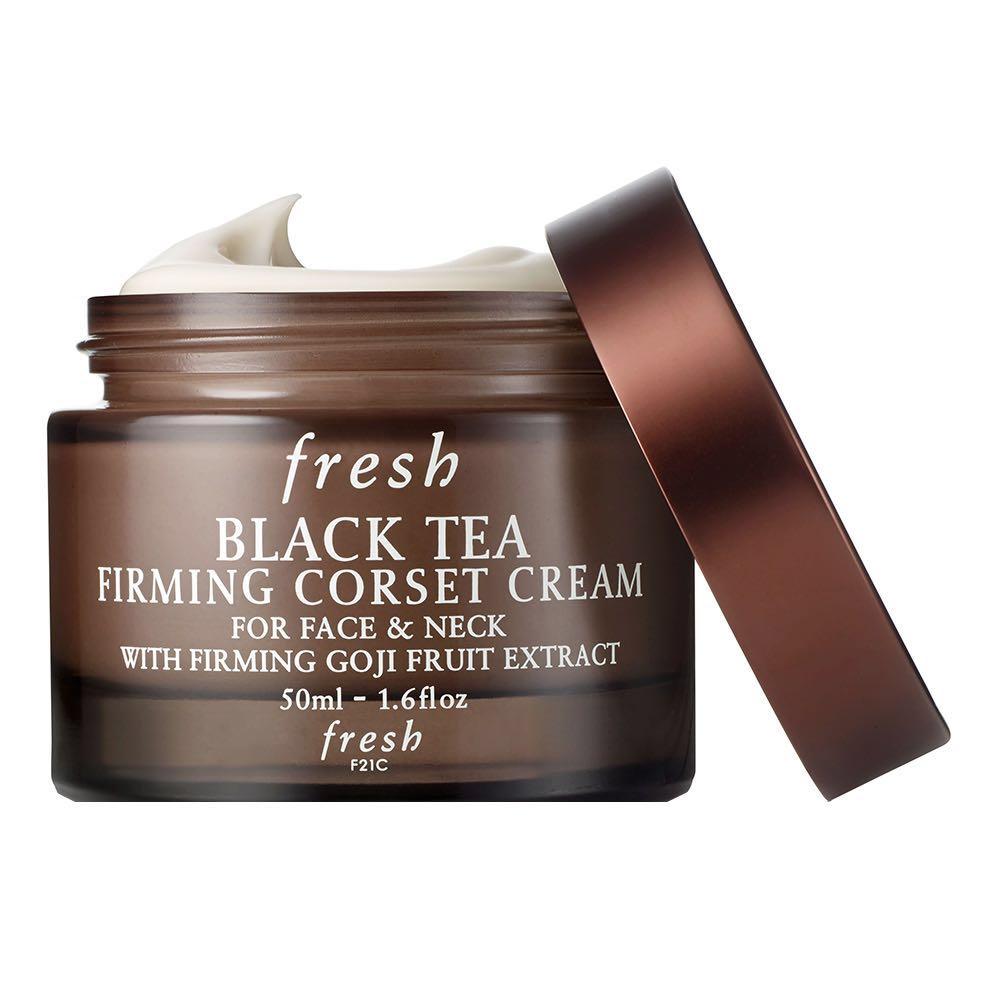 ad97a9919d BNIB Fresh Black Tea Firming Corset Cream for Face   Neck