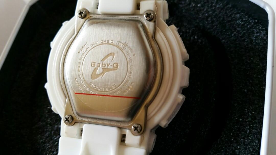 Brand new Baby G Watch with rose gold face