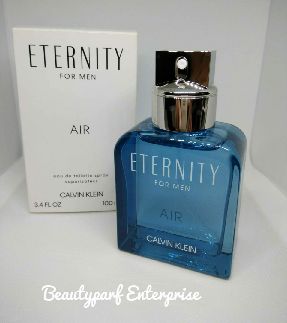 f3102e2894c Calvin Klein CK Eternity Air Men 100ml EDT Spray Tester Pack, Health ...