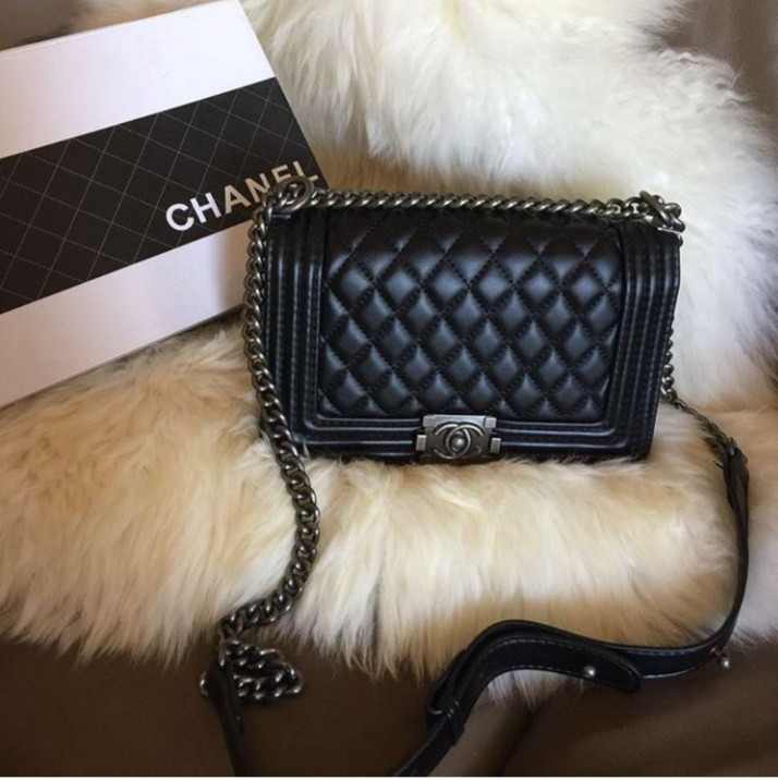 17f353bf918c Chanel Petite Boy Mirror, Luxury, Bags & Wallets on Carousell