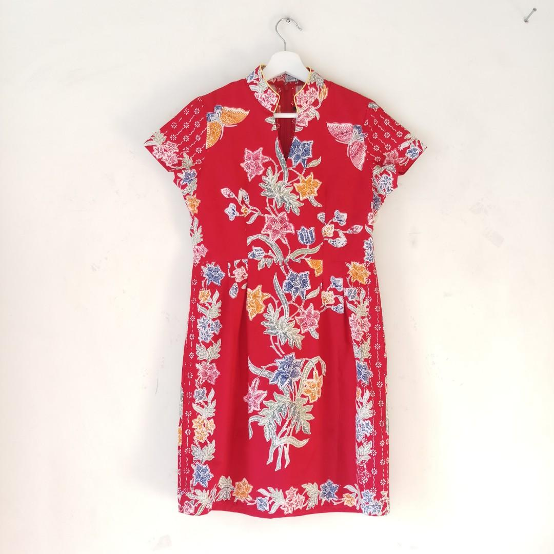 Batik Cheongsam dress