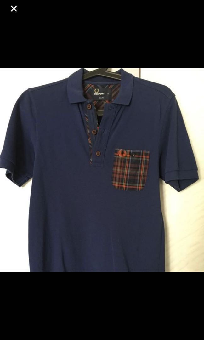 b2e965266 Fred perry polo slim XS (100% authentic), Men's Fashion, Clothes ...