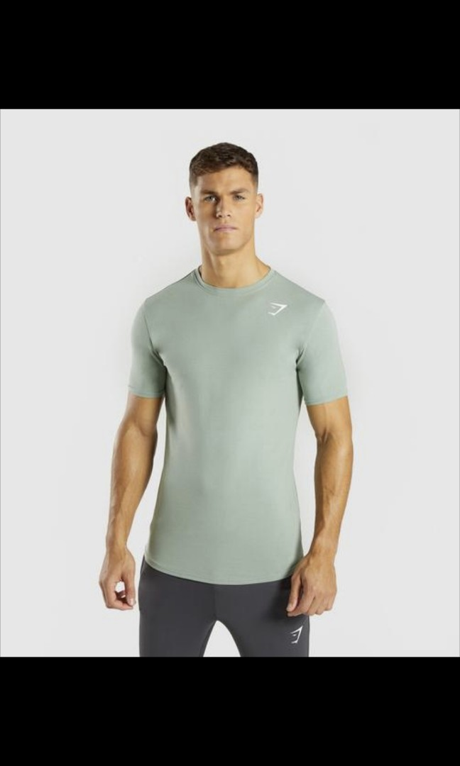 445b4ea8 Gymshark Ark T-shirt (Authentic), Men's Fashion, Clothes, Tops on Carousell