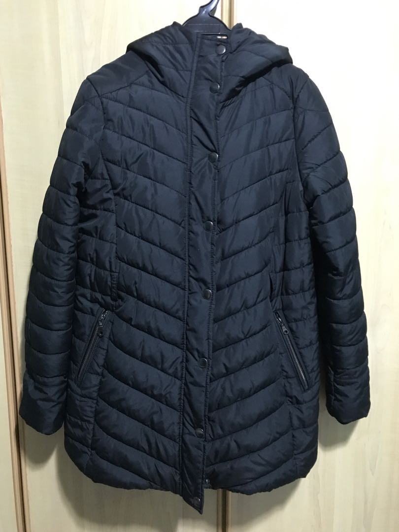 ebe3a1b0f6218 H&M MAMA Black Winter Jacket, Women's Fashion, Clothes, Outerwear on ...