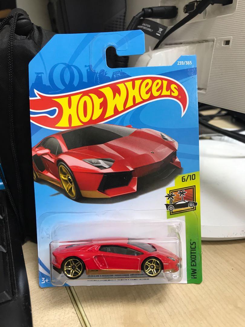 Hotwheels Lamborghini Aventador Miura Homage Toys Games Others