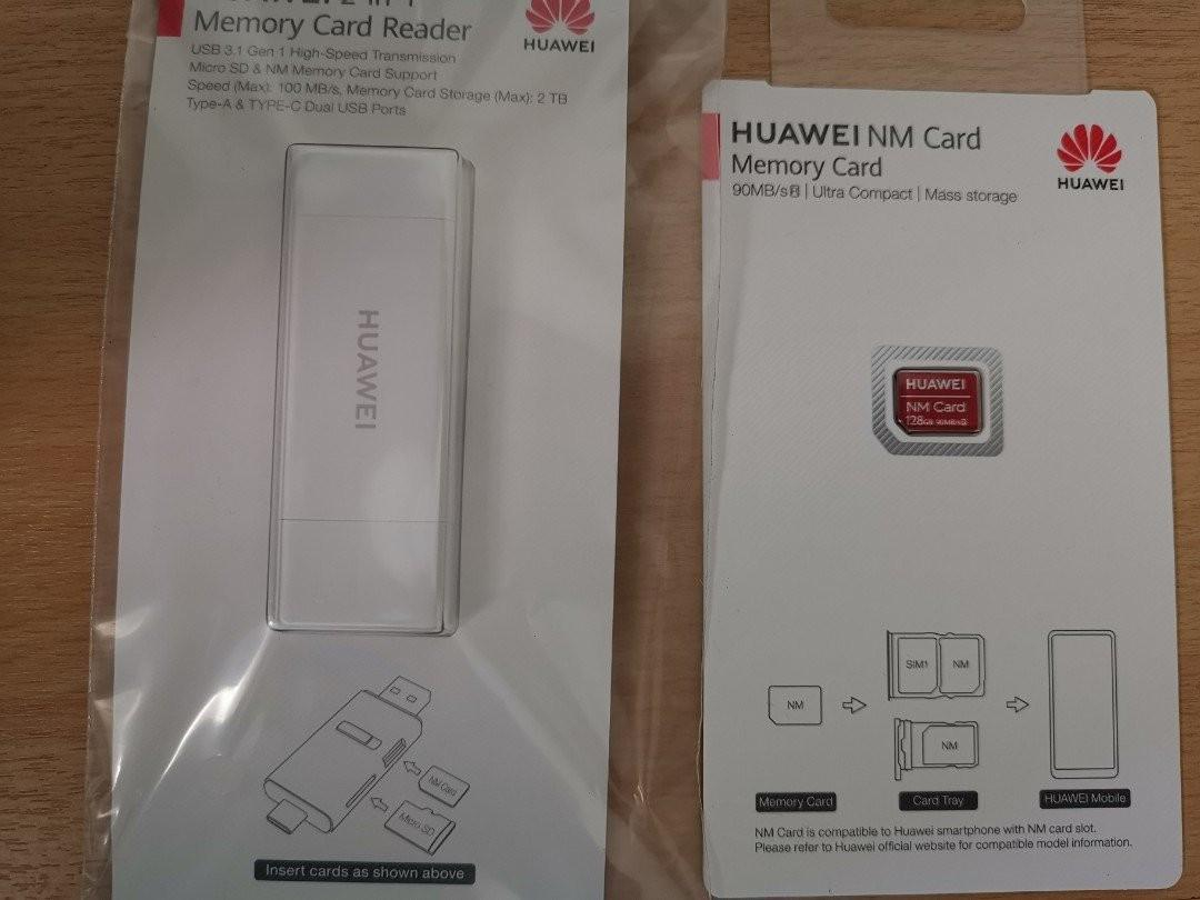 Huawei Nm 128GB card with memory card reader on Carousell