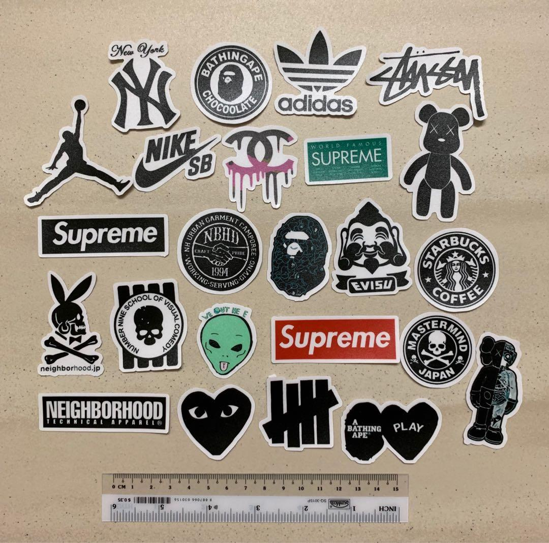 f775cd6c4e18b Hypebeast Stickers Set, Design & Craft, Others on Carousell